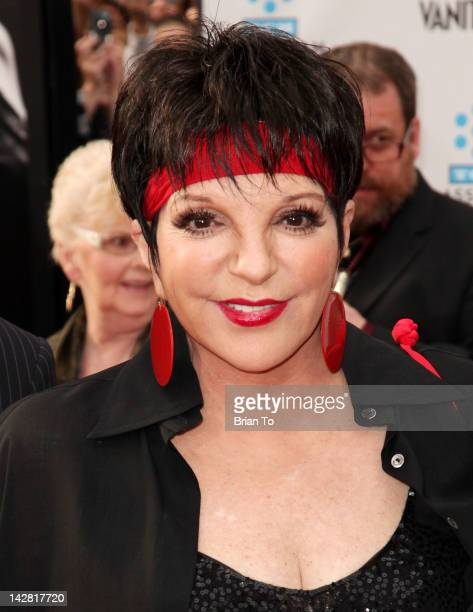 Actress/singer Liza Minnelli attends 2012 TCM Classic Film Festival opening night gala - The World Premiere of 40th Anniversary restoration of...