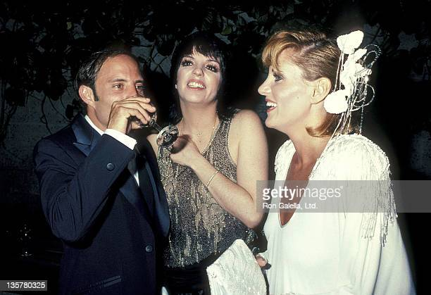 Actress/Singer Liza Minnelli halfbrother Joey Luft and halfsister actress Lorna Luft attend A Star is Born Specially Restored 29th Anniversary...