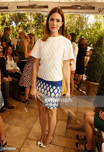 Actress/Singer Mandy Moore attends CFDA/Vogue Fashion Fund Event hosted by Lisa Love and Mark Holgate and sponsored by Audi Beautycom American...