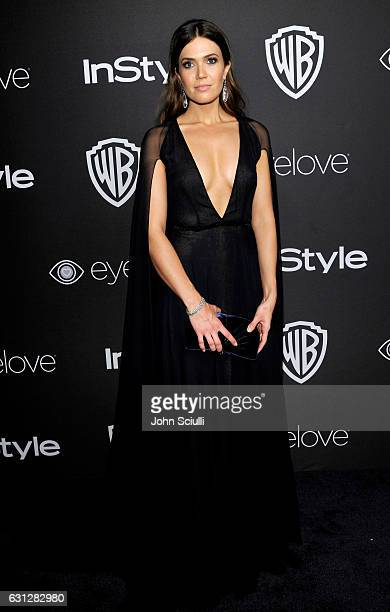 Actress/singer Mandy Moore attends The 2017 InStyle and Warner Bros 73rd Annual Golden Globe Awards PostParty at The Beverly Hilton Hotel on January...