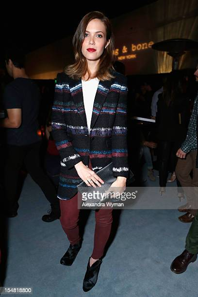 Actress/singer Mandy Moore attends the Opening of LA rag bone Flagship store on October 26 2012 in Los Angeles California
