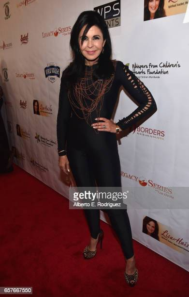 Actress/singer Maria Conchita Alonso attends the 3rd Annual Whispers From Children's Heats Foundation Legacy Charity Gala at Casa Del Mar on March...