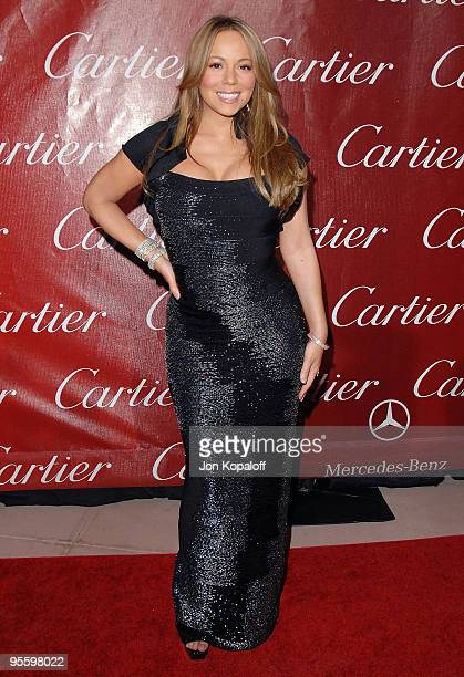 Actress/Singer Mariah Carey arrives at the 21st Annual Palm Springs International Film Festival Awards at the Palm Springs Convention Center on...
