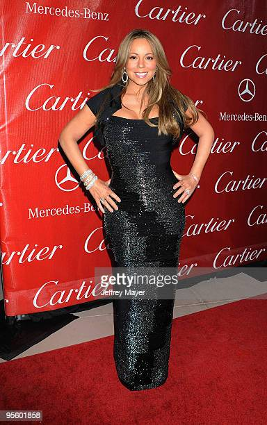 Actress/singer Mariah Carey attends the 21st Annual Palm Springs International Film Festival Opening Night Gala at Palm Springs Convention Center on...