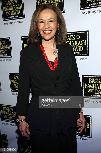 Actress/singer Marilyn McCoo arrives at 'Back to Bacharach and David' Opening Night at The Music Box @ Fonda on April 19 2009 in Hollywood California