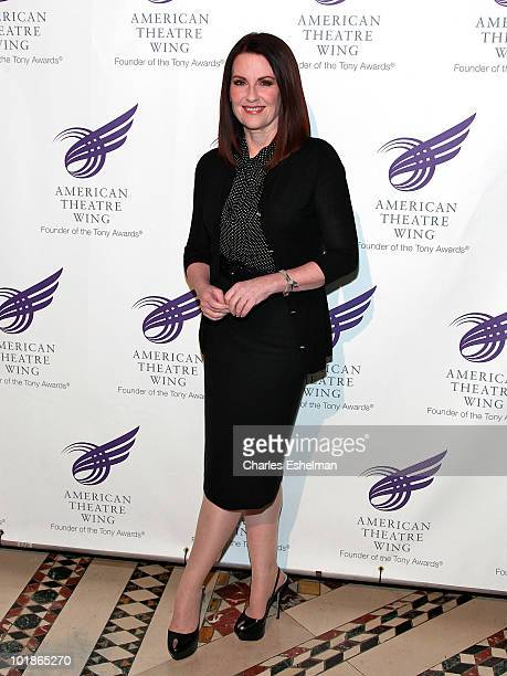 Actress/singer Megan Mullally attends the 2010 American Theatre Wing Spring Gala at Cipriani 42nd Street on June 7 2010 in New York City