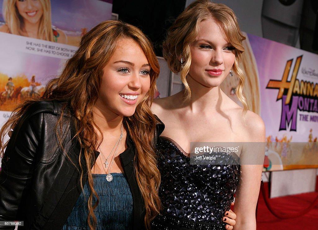 """Hannah Montana The Movie"" Los Angeles Premiere - Red Carpet : News Photo"