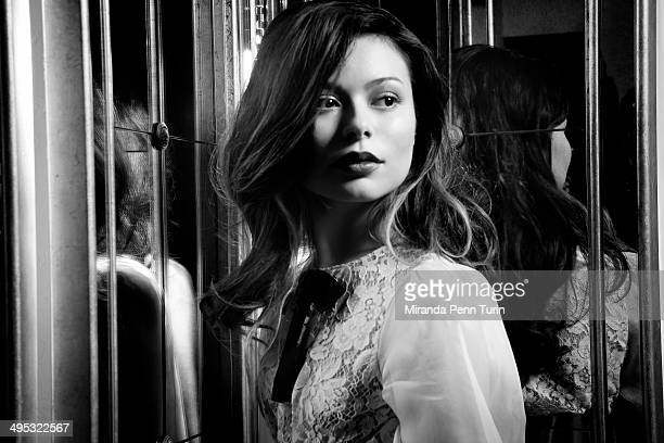 Actress/singer Miranda Cosgrove is photographed for Spirit and Flesh Magazine on November 19 2013 in Los Angeles California PUBLISHED IMAGE