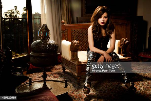 Actress/singer Miranda Cosgrove is photographed for Spirit and Flesh Magazine on November 19 2013 in Los Angeles California