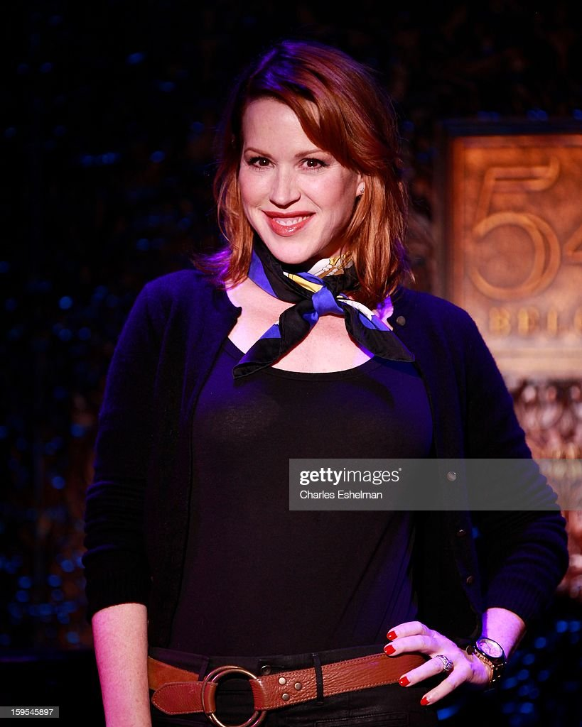 Actress/singer Molly Ringwald attends a press preview at 54 Below on January 15, 2013 in New York City.