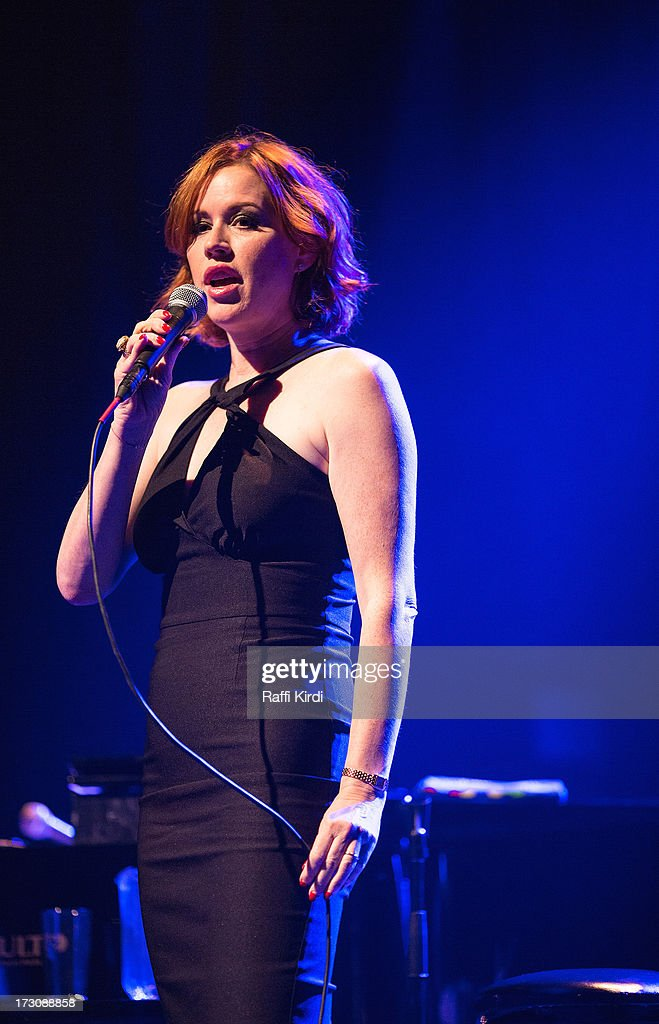 Actress/singer Molly Ringwald performs on day nine during the 2013 Festival International de Jazz de Montreal on July 6, 2013 in Montreal, Canada.
