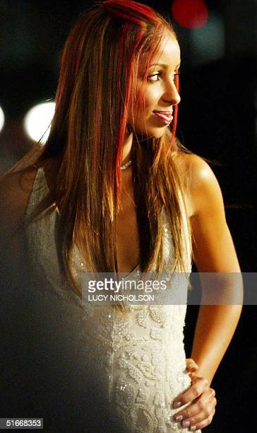 US actress/singer Mya Harrison arrives at the premiere of her film 'Chicago' in Beverly Hills CA 10 December 2002 AFP PHOTO/Lucy NICHOLSON