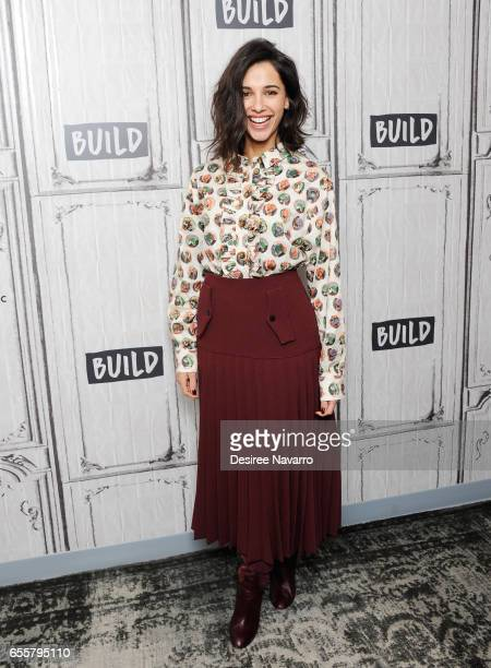 Actress/singer Naomi Scott attends Build Series to discuss 'Power Rangers' at Build Studio on March 20, 2017 in New York City.