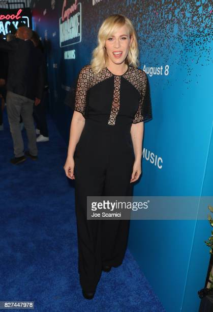 Actress/singer Natasha Bedingfield at Apple Music Launch Party Carpool Karaoke The Series with James Corden on August 7 2017 in West Hollywood...