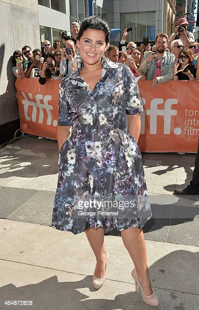 Actress/singer Nelly Furtado attends The Good Lie premiere during the 2014 Toronto International Film Festival at The Elgin on September 7 2014 in...