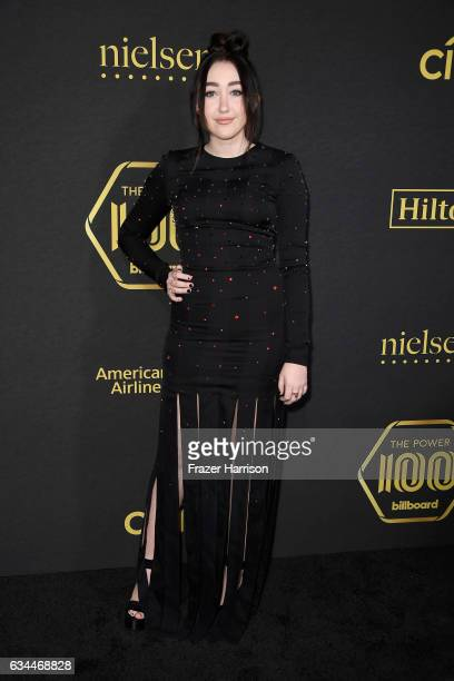 Actress/Singer Noah Cyrus attends Billboard Power 100 Red Carpet at Cecconi's on February 9 2017 in West Hollywood California