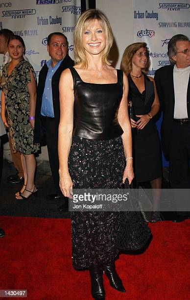 Actress/Singer Olivia NewtonJohn from the movie Grease attends the Celebration of Paramount Studio's 90th Anniversary with the release of six alltime...