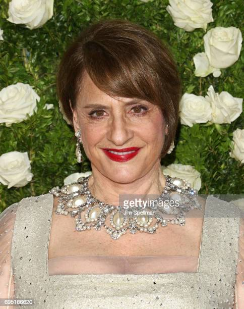 Actress/singer Patti LuPone attends the 71st Annual Tony Awards at Radio City Music Hall on June 11 2017 in New York City