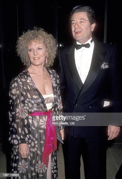 Actress/Singer Petula Clark and husband Claude Wolff attend the Seventh Annual American Cinema Awards on January 27 1990 at Beverly Hilton Hotel in...