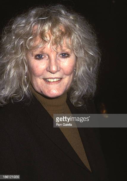 Actress/Singer Petula Clark attends the Wedding Rehearsal for Liza Minnelli and David Gest on March 15 2002 at Marble Collegiate Church in New York...