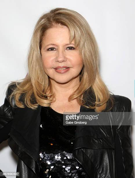 Actress/singer Pia Zadora arrives at ENTSpeaks at the Inspire Theatre on February 2 2015 in Las Vegas Nevada