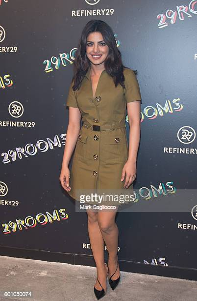 Actress/Singer Priyanka Chopra attends the 2nd Annual Refinery29 29Rooms: Powered By People on September 8, 2016 in New York City.