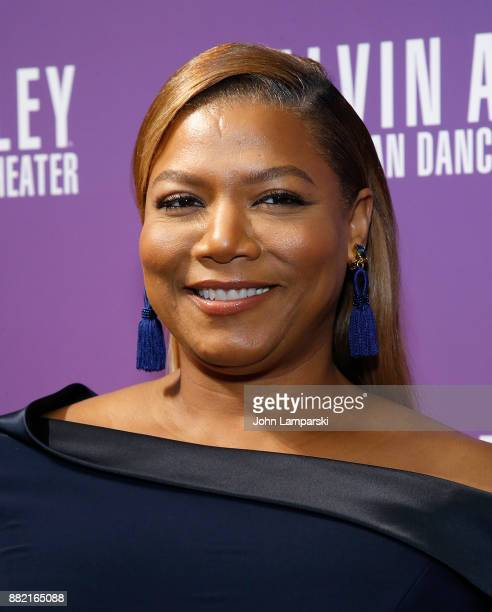 Actress/singer Queen Latifah attends Alvin Ailey's 2017 opening night Gala at New York City Center on November 29 2017 in New York City