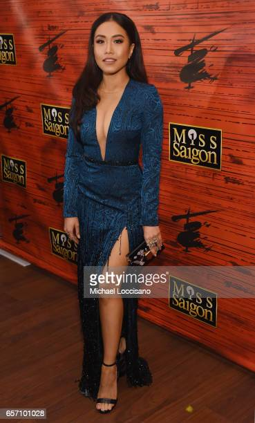 """Actress/singer Rachelle Ann Go attends the after party for """"Miss Saigon"""" Broadway Opening Night at Tavern on the Green on March 23, 2017 in New York..."""