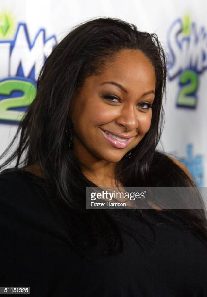 """Actress/Singer Raven Symone arrives at the 1st Annual Teen People """"Young Hollywood"""" Issue party held on August 7, 2004 at the Teen People mansion in..."""