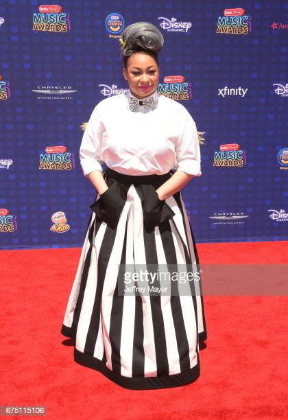 Actress-singer Raven-Symoné attends the 2017 Radio Disney Music Awards at Microsoft Theater on April 29, 2017 in Los Angeles, California.
