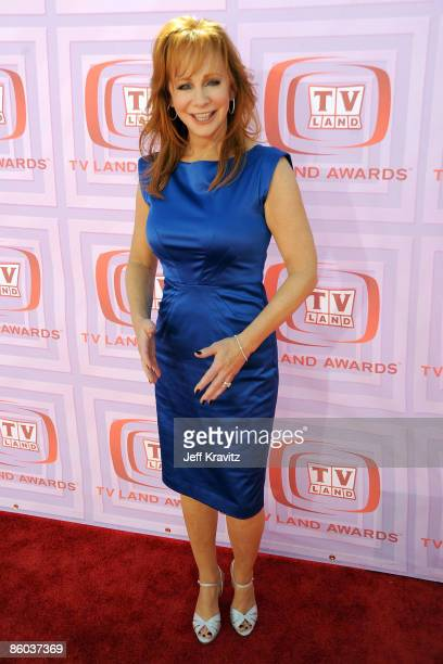 Actress/singer Reba McEntire arrives at the 7th Annual TV Land Awards held at Gibson Amphitheatre on April 19 2009 in Universal City California