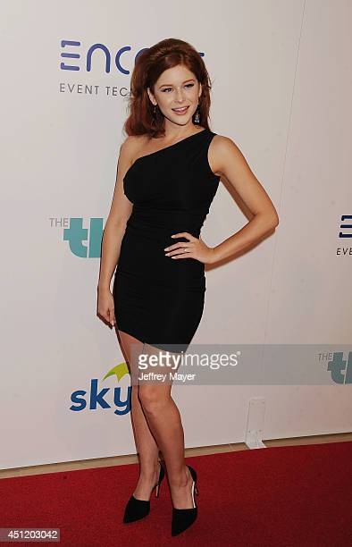 Actress/singer Renee Olstead attends the 5th Annual Thirst Gala hosted by Jennifer Garner in partnership with Skyo and Relativity's 'Earth To Echo'...
