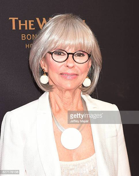 Actress/singer Rita Moreno attends the 2016 Daytime Emmy Awards Arrivals at Westin Bonaventure Hotel on May 1 2016 in Los Angeles California