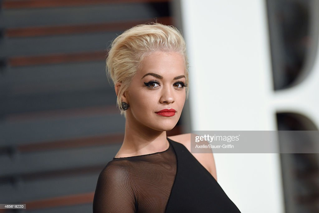 Actress/singer Rita Ora arrives at the 2015 Vanity Fair Oscar Party Hosted By Graydon Carter at Wallis Annenberg Center for the Performing Arts on February 22, 2015 in Beverly Hills, California.