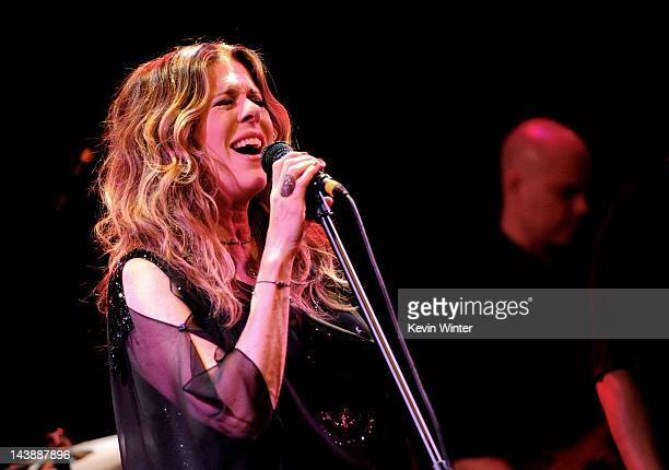 Actress/singer Rita Wilson performs at The Troubadour on May 4, 2012 in West Hollywood, California.
