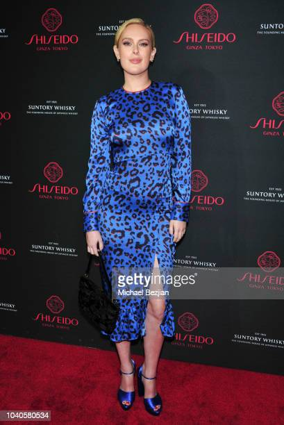 Actress/singer Rumer Willis attends Shiseido Cocktail Event at Quixote Studios West Hollywood on September 25 2018 in West Hollywood California