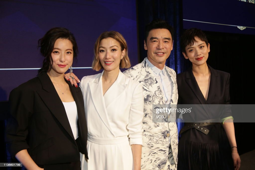 HKG: Sammi Cheng Attends 2019 Media Asia Presentation In Hong Kong