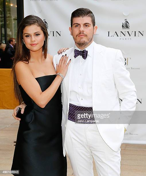 Actress/singer Selena Gomez and designer Eli Mizrahi attends the American Ballet Theatre 2014 Opening Night Spring Gala at The Metropolitan Opera...