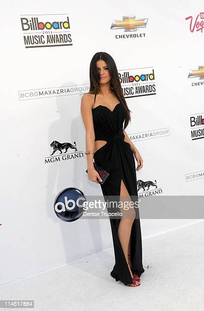 Actress/singer Selena Gomez arrives at the 2011 Billboard Music Awards at the MGM Grand Garden Arena May 22 2011 in Las Vegas Nevada