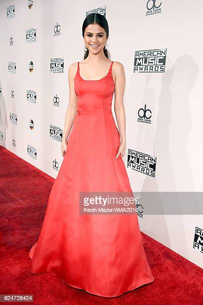 Actress/singer Selena Gomez attends the 2016 American Music Awards at Microsoft Theater on November 20 2016 in Los Angeles California