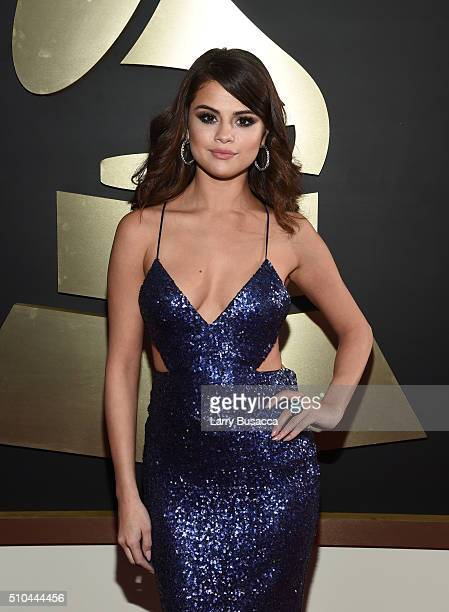 Actress/singer Selena Gomez attends The 58th GRAMMY Awards at Staples Center on February 15 2016 in Los Angeles California