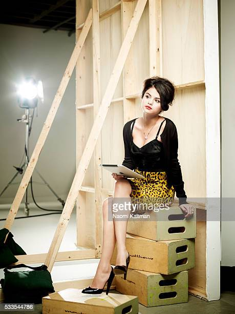 Actress/singer Selena Gomez is photographed for Fashion Magazine on July 19, 2010 in Los Angeles, California. Stylist: Eric Nicholson, Hair: Matthew...