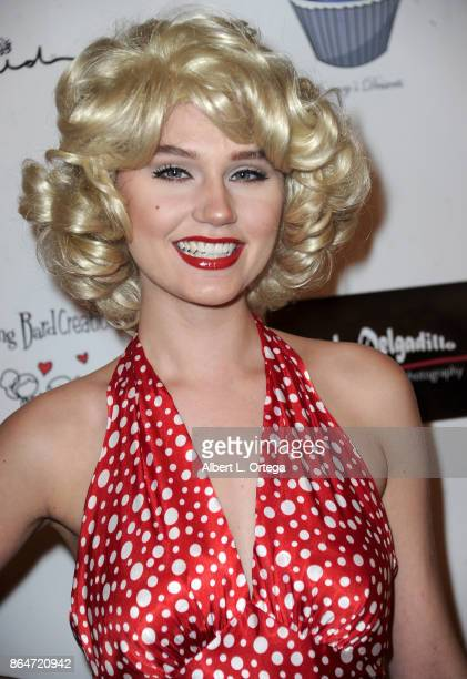 Actress/singer Serena Laurel attends Halloween Hotness 4 Heating Up For The Cure held at American Legion Hall on October 15 2017 in Los Angeles...