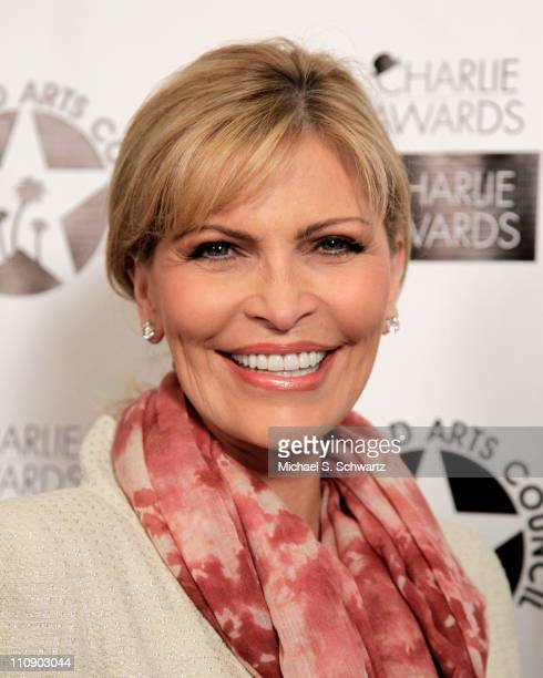 Actress/singer Shawn Southwick King poses during the Hollywood Arts Council's 25th Annual Charlie Awards Luncheon at The Roosevelt Hotel on March 25...