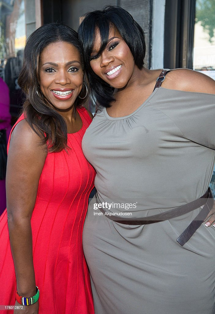 Actress/singer Sheryl Lee Ralph (L) and singer Kelly Price attend the live casting auditions for the new reality show 'Too Fat For Fame' at The Complex Hollywood on August 28, 2013 in Los Angeles, California.