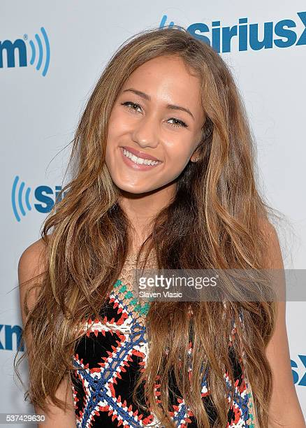 Actress/singer Skylar Stecker visits SiriusXM Studios on June 1 2016 in New York City