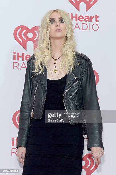 Actress/singer Taylor Momsen attends the 2014 iHeartRadio Music Festival at the MGM Grand Garden Arena on September 19 2014 in Las Vegas Nevada