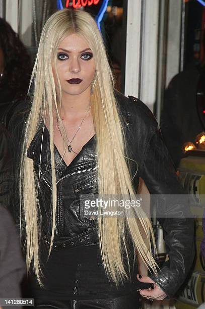 Actress/singer Taylor Momsen attends the launch party For 'Abbey Dawn by Avril Lavigne' at the Viper Room on March 13 2012 in West Hollywood...