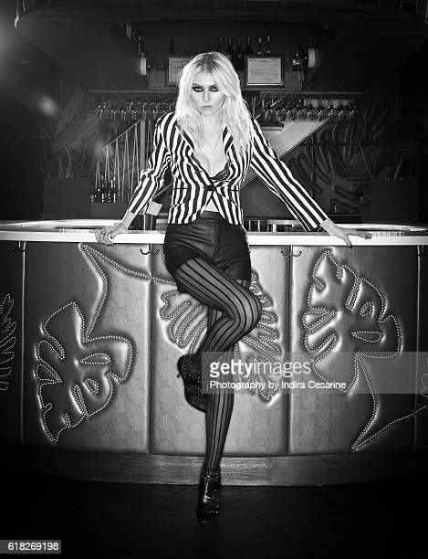 Actress/Singer Taylor Momsen is photographed for The Untitled Magazine on January 25 2013 in New York City CREDIT MUST READ Indira Cesarine/The...