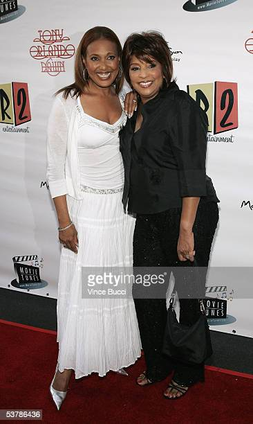 Actress/singer Telma Hopkins and singer Joyce Vincent attend the reunion concert and DVD premiere for the musical group Tony Orlando and Dawn at The...
